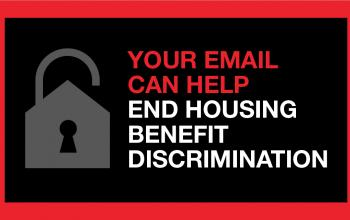 Your email can help end housing benefit discrimination