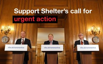 Support Shelter's Call For Urgent Action